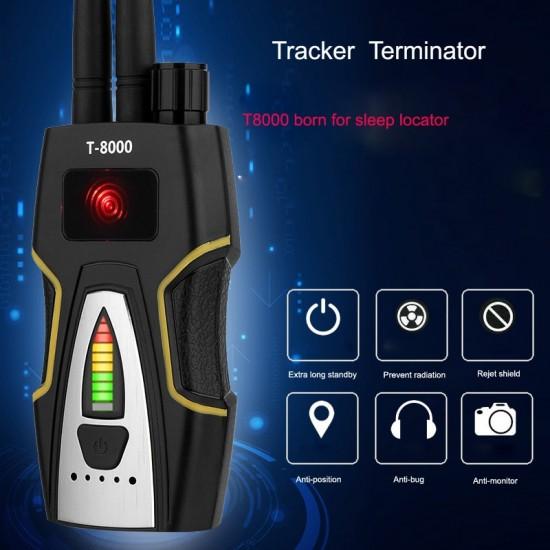 Detektor odposluchu (1-8000 MHz), skrytých kamier, WiFi, GPS, GSM, 3G, 4G, RF a iných špionážnych zariadení