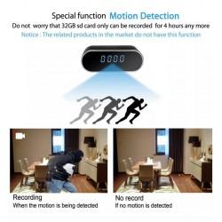 Skrytá kamera v hodinách – FULL HD, 140°, WiFi, IOS a Android aplikácia, nočné videnie, detekcia pohybu