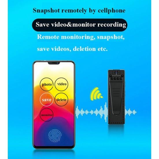 Skrytá mini kamera s diaľkovým ovládaním cez mobil – monitoring v reálnom čase aj zo záznamu