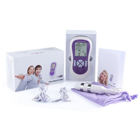Profesionálny stimulátor svalov panvového dna - kegel cvičenie - vaginálna masáž - stimulácia panvového dna – inkontinencia - zlepšenie vaginálneho tonusu