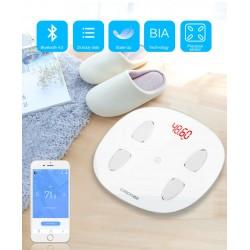 Inteligentná Bluetooth váha spárovateľná s Android alebo IOS zariadeniami