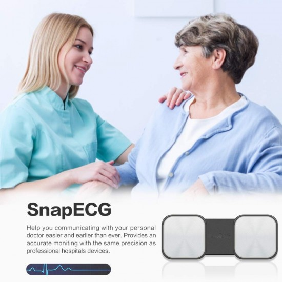 Prenosný EKG monitor spárovateľný s IOS a Android OS cez Bluetooth