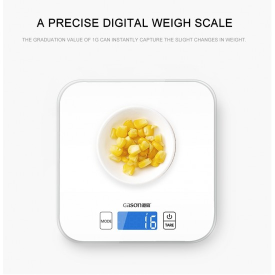 Štýlová a presná elektronická kuchynská váha 15kg / 1g