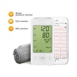 Tlakomer s funkciou merania EKG - spárovateľný s IOS a Android OS smartfónmi