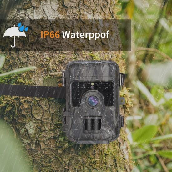 Fotopasca so záznamom fotografií a videa na micro SD do nízkych teplôt