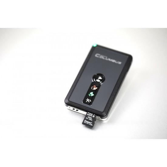 Výkonný GPS logger, dlhá výdrž batérie, uloženie až 50 miliónov trasových bodov