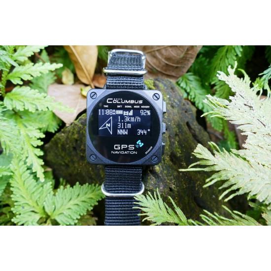 Profesionálny GPS logger, v tvare hodiniek, vysoká presnosť, športové funkcie
