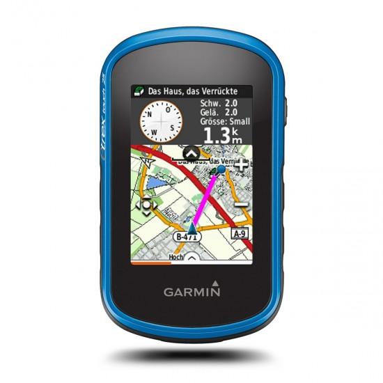 GARMIN ETREX TOUCH 25 - Turistická navigácia a Data Logger + Topografické mapy Európy
