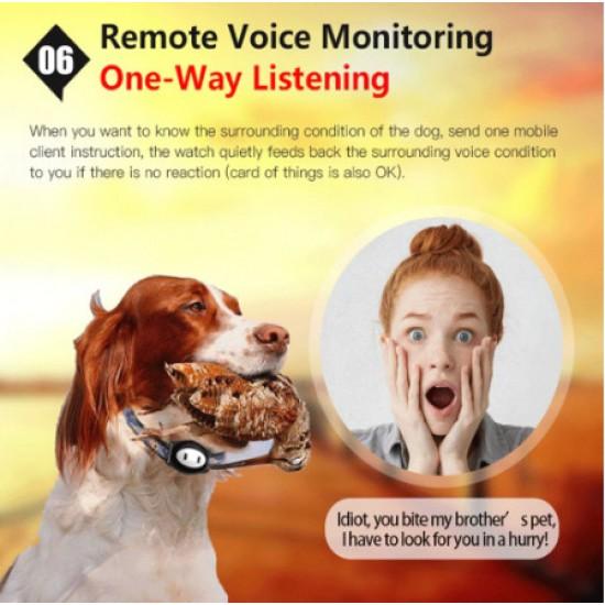 GPS tracker pre psy – výskyt, pohyb a odposluch zvukov z okolia