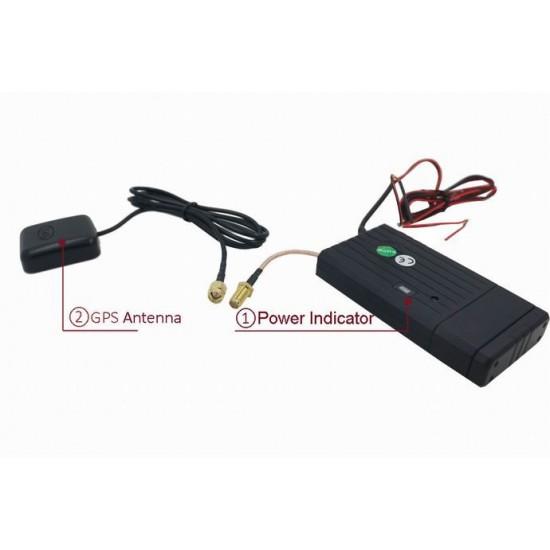 GPS tracker pre trvalý monitoring vozidiel s online monitoringom a pamäťou