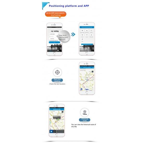 GPS tracker pre býky – solárne dobíjanie, mobilná aplikácie na iOS, Android, PC