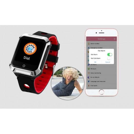 GPS hodinky so sledovaním výskytu a pohybu pre deti a starých ľudí