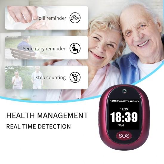 GPS tracker (sledovač výskytu a pohybu) s telefónom v prívesku / GPS prívesok - 4G