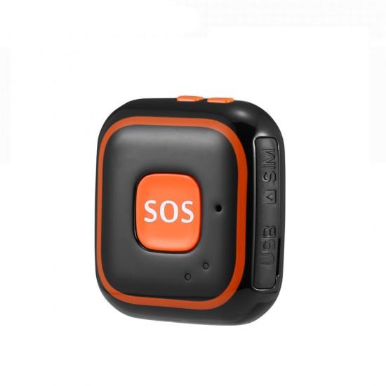 GPS prívesok na monitoring pohybu a telekomunikáciu pre deti