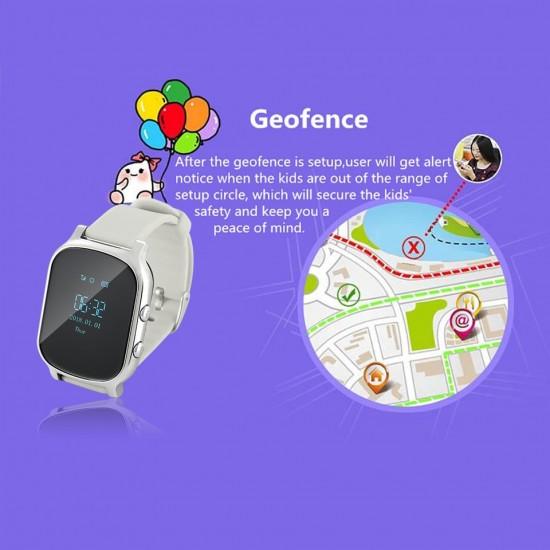 Hodinky s gps monitoringom výskytu a pohybu a telefónom