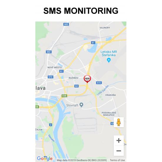 GPS tracker s možnosťou odstavenia motora