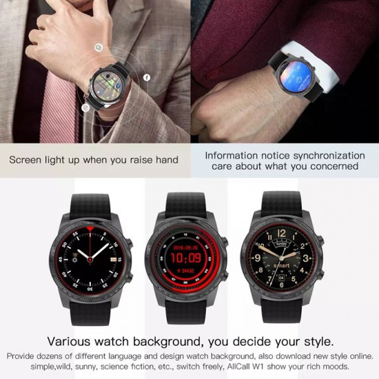 Inteligentné, športové Android hodinky, 4-jadrový procesor, športové funkcie, GPS, AMOLED displej