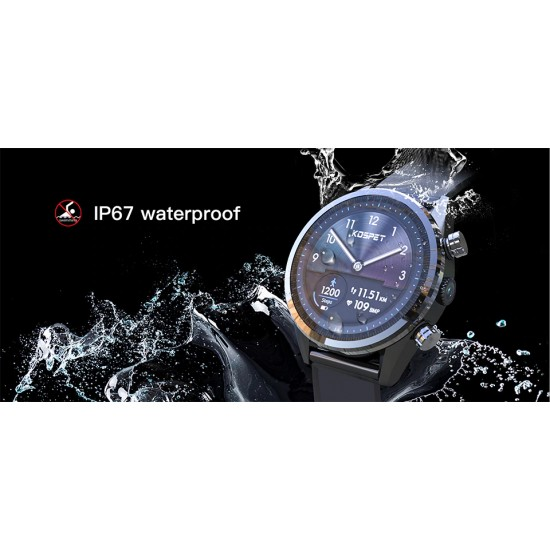 Elegantné smart hodinky s mobilom, športové funkcie, vysoká kapacita batérie