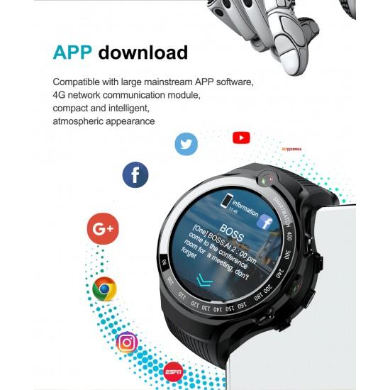Smarthodinky s mobilom, podpora 4G, Amoled displej, duálna kamera, GPS, športové funkcie