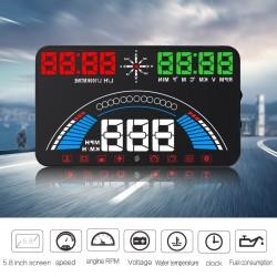 HUD displej so zobrazovaním OBD a GPS informácií