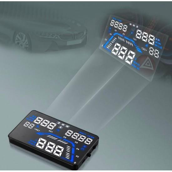 GPS HUD displej pre všetky vozidlá