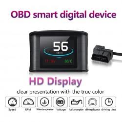 HUD displej s OBD autodiagnostickými funkciami a vymazaním chybových kódov