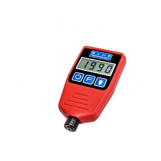 Profesionálny merač hrúbky laku pre vozidlá - zistenie dvojitého náteru, alebo tmelenia (Podklady - oceľ, galvanizovaná oceľ, hliník)