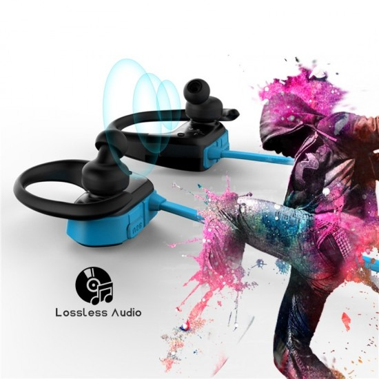 Športové, odolné, multifunkčné Bluetooth slúchadlá, vstavaná pamäť, dlhá výdrž batérie