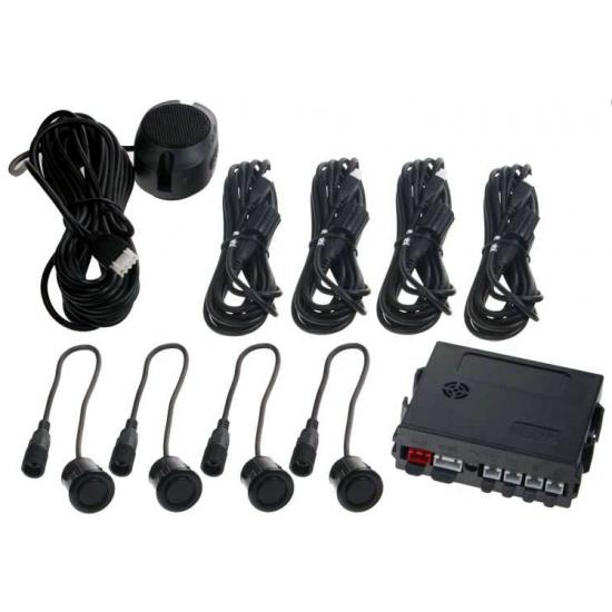 Parkovací senzor pre osobné vozidlá so zvukovou signalizáciou prekážok