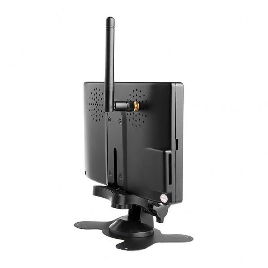 Parkovacia kamera s nočným LED prisvietením a 7-palcovým displejom pre autobusy a nákladné vozidlá
