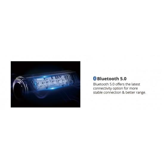 40W Prenosný reproduktor, Bluetooth 5.0, počasiu odolný, dlhá výdrž batérie, zvukový ekvalizér