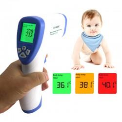 Digitálny, infračervený, bezkontaktný teplomer, špeciálne navrhnutý pre deti a dospelých