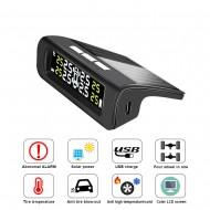 TPMS – Senzor tlaku a teploty pneumatík pre vozidlá so solárnym nabíjaním (TPMS-001-INT)