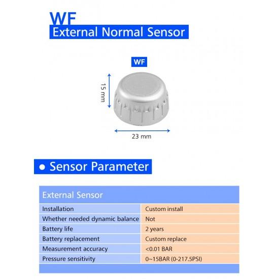 TPMS – Senzory tlaku a teploty v pneumatikách pre nákladné vozidlá a kamióny