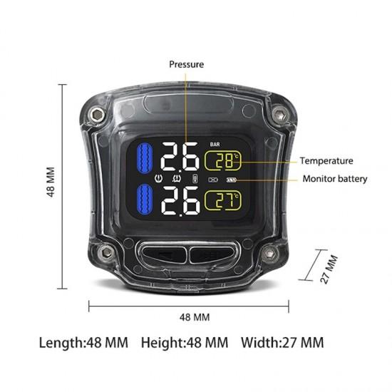 TPMS – Senzor tlaku a teploty v pneumatikách pre motorky